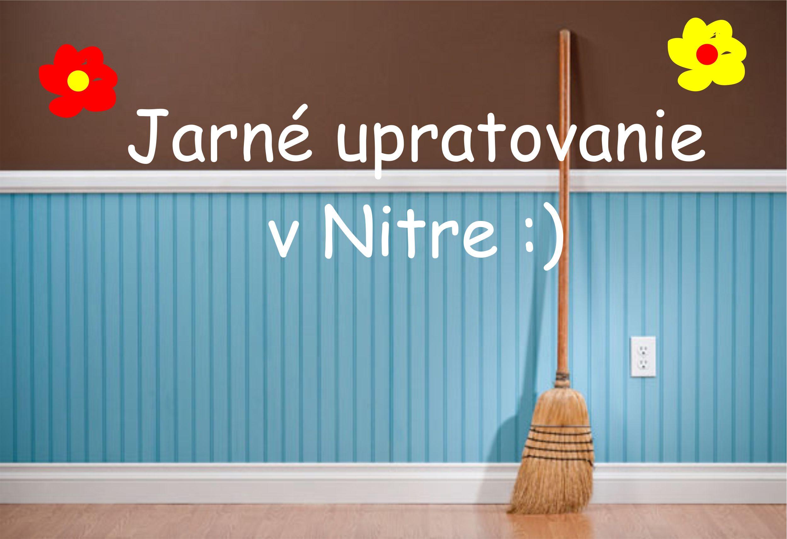 6551691a58d6e Jarné upratovanie v Nitre - Kam v meste   moja Nitra