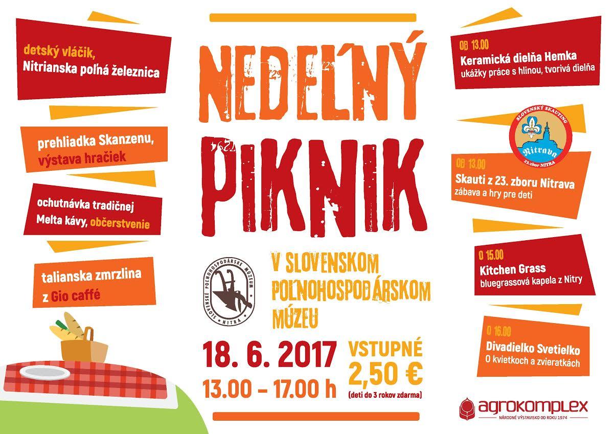 Nedeľný piknik v Slovenskom poľnohospodárs - Kam v meste  ee95768bc27